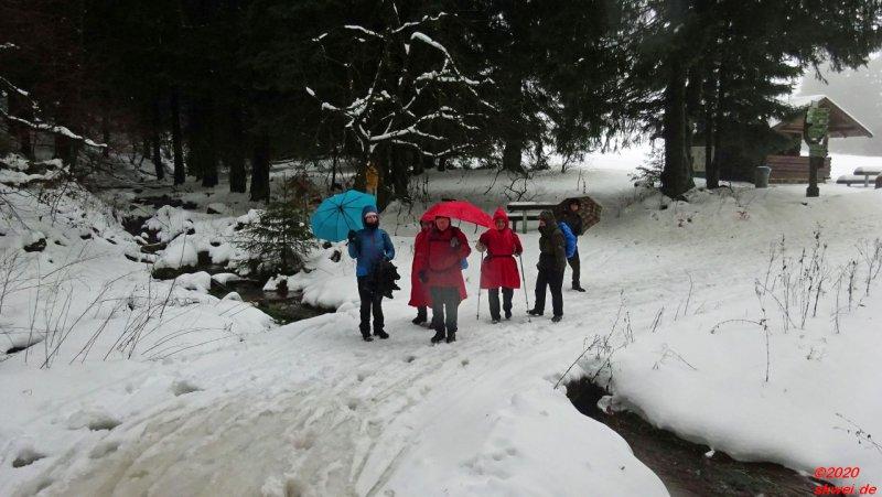 Winterwanderung zur Ebertwiese