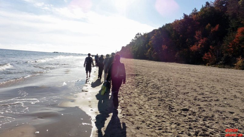 Wandern an der Ostsee