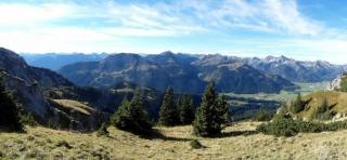 Panorama vom Füssener Jöchle