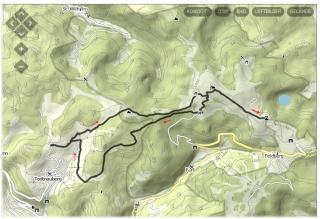 Tourverlauf zum Feldberg
