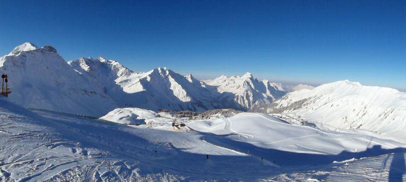 Skigebiet Warth-Schröcken
