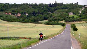 Richtung Freyburg