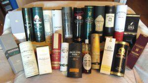 Einige unsere Whiskys
