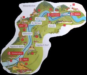Wachau-Donauschiffahrt-Strecke