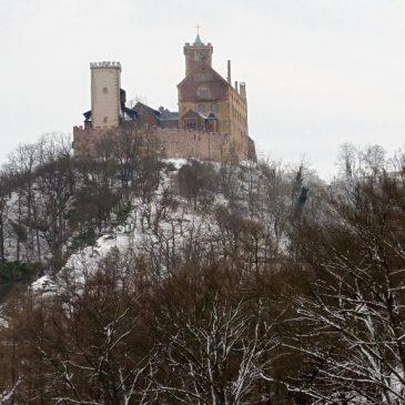 Die Wartburg im Winter