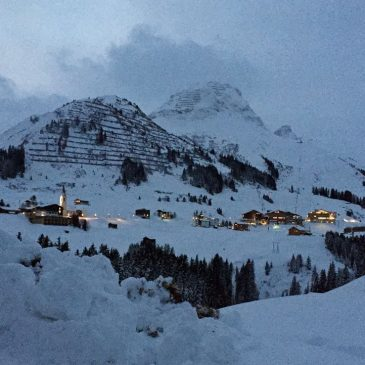 Skilaufen in Warth-Schröcken am Arlberg