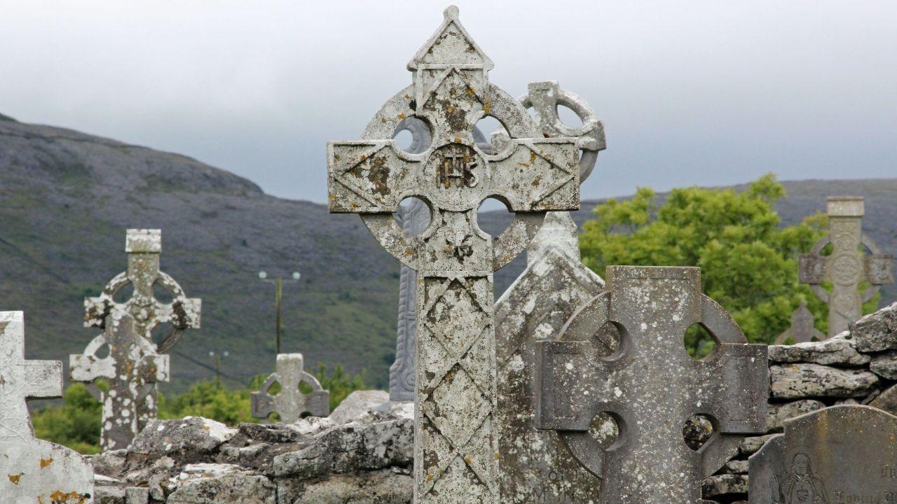Irische Kreuze