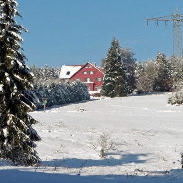 November – Reichlich Schnee am Rennsteig