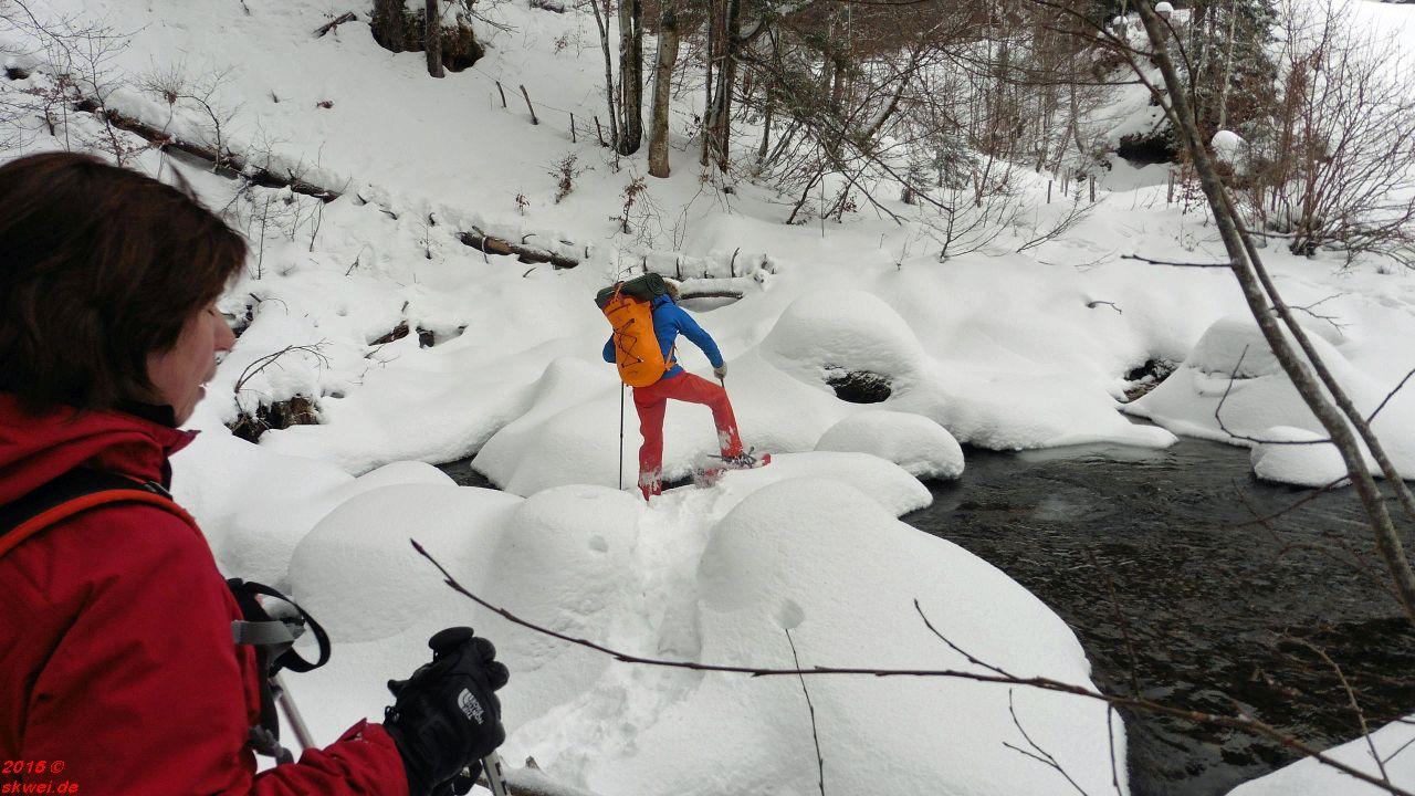 Schneeschuhwanderung mit Christoph