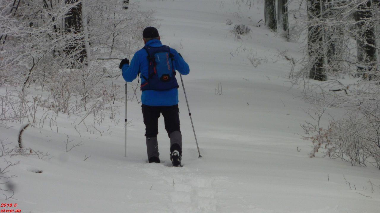 Schneeschuhwanderung Mommelstein_007