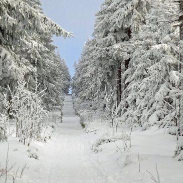 Winter und Advent im Erzgebirge