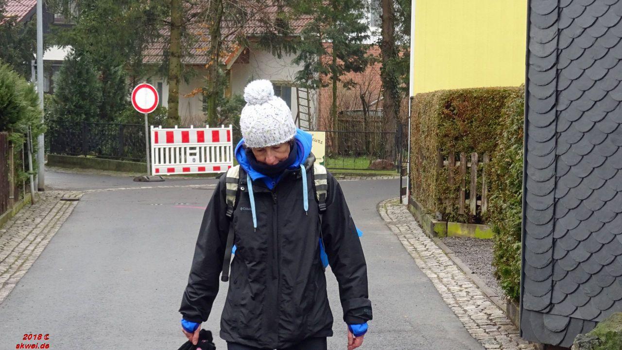 Geschafft - Ziel in Bad Tabarz