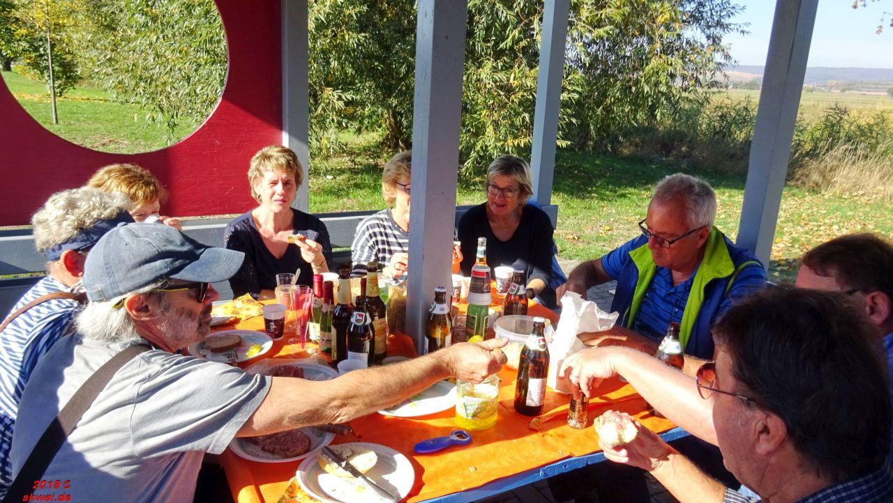 Picknick an der Werra