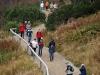 Abstieg zur Wanderhütte