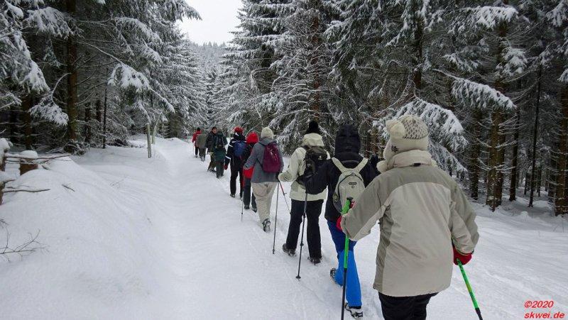 Winterwanderung zum Mommelstein