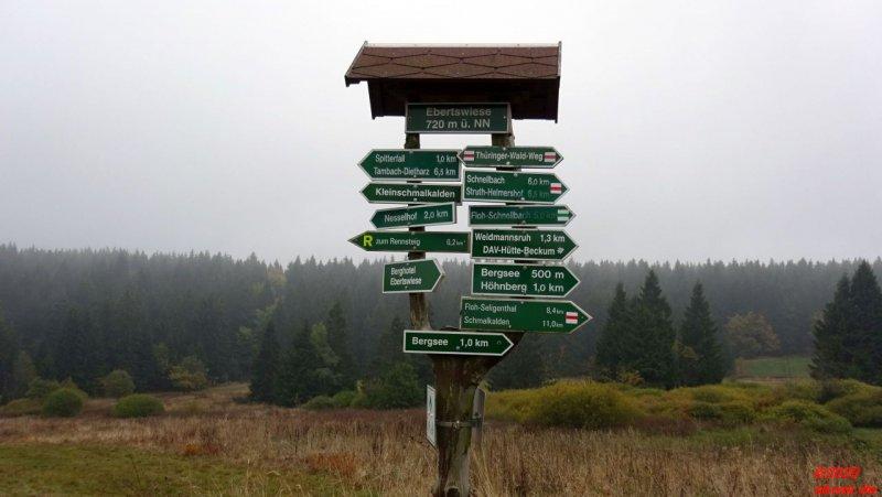 Wanderwegweiser Ebertwiese