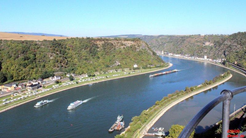 Wanderungen am Rhein