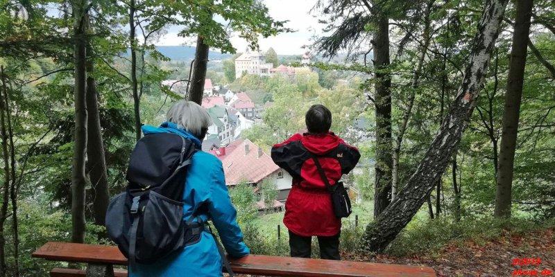 Blick auf Elgersburg