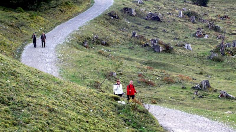 Rund um die Krinnenspitze